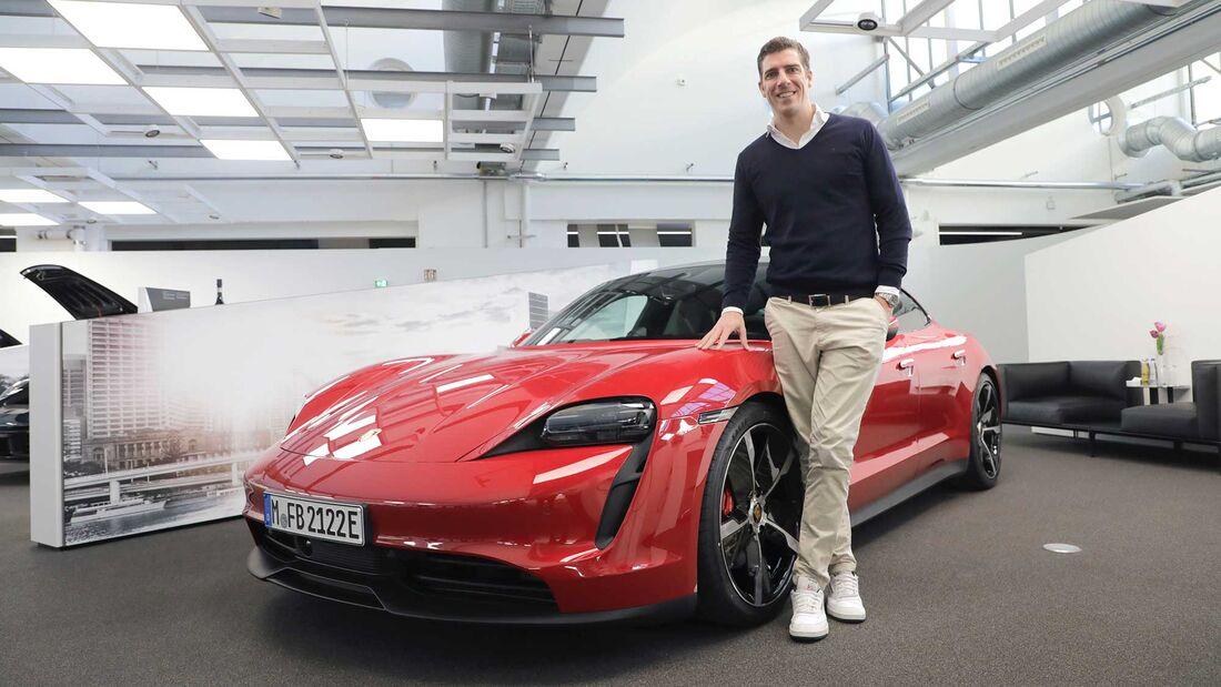 Porsche Werksabholung Taycan 4S 2020