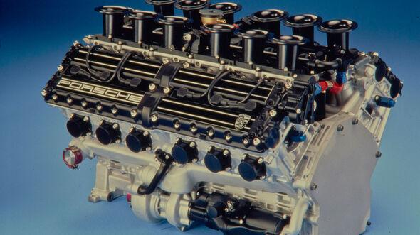 Porsche - Zwölfzylinder - Formel 1