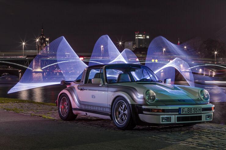 Porsche bb Moonracer, Frontansicht