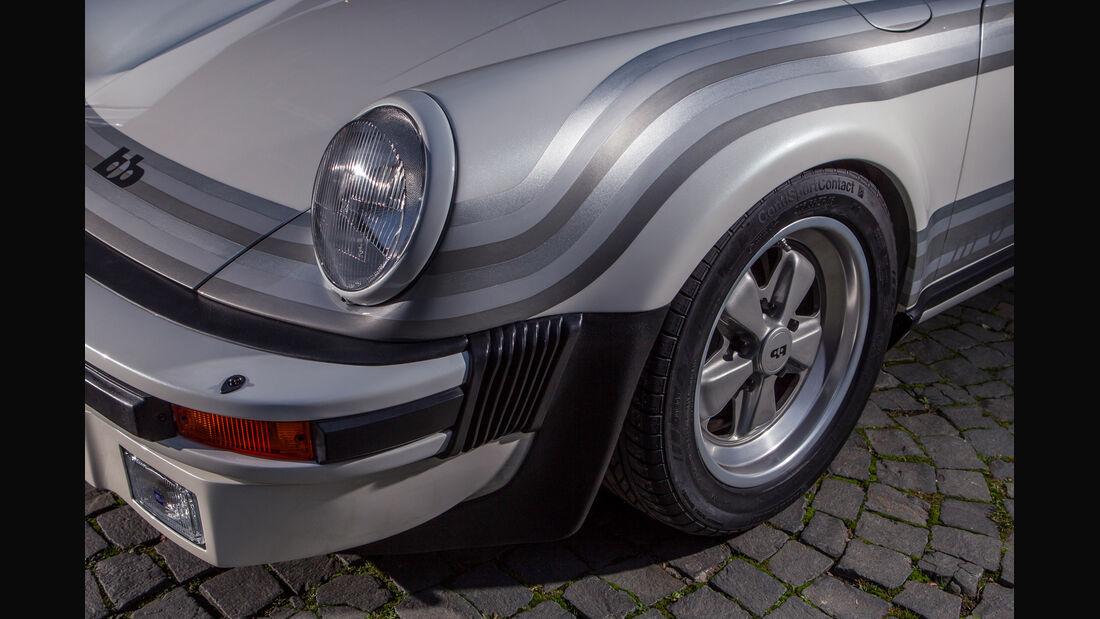 Porsche bb Moonracer, Frontscheinwerfer