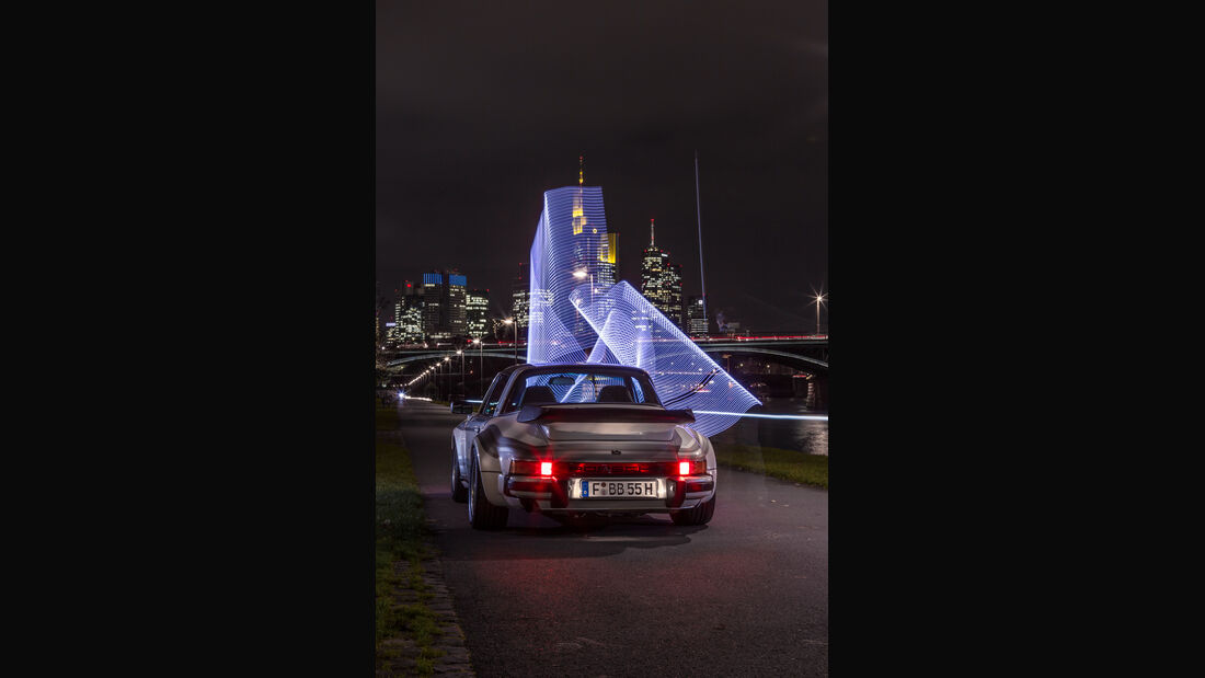 Porsche bb Moonracer, Heckansicht