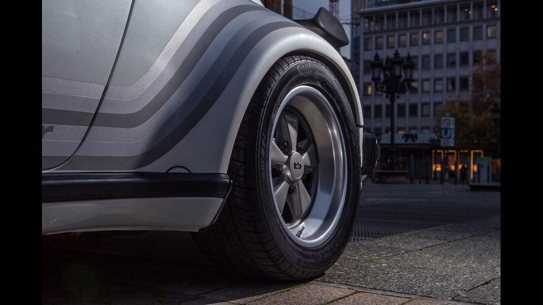 Porsche bb Moonracer, Rad, Felge