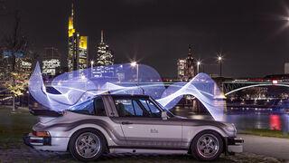 Porsche bb Moonracer, Seitenansicht