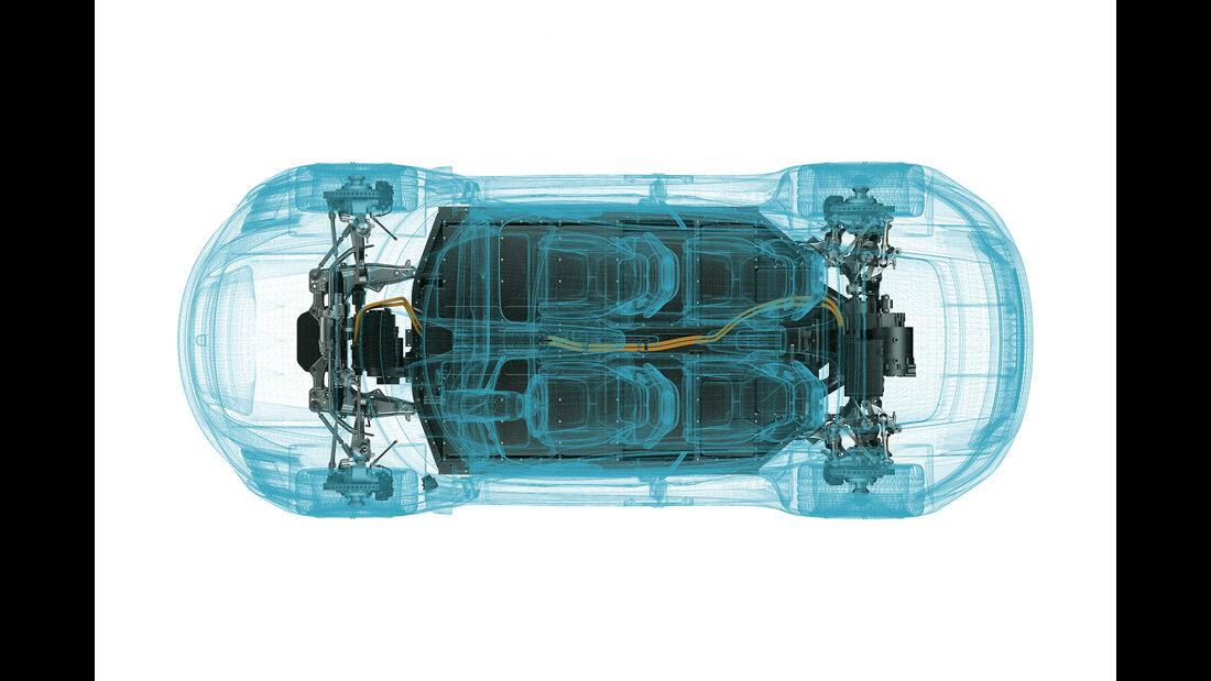 Porsche misson-e Technik
