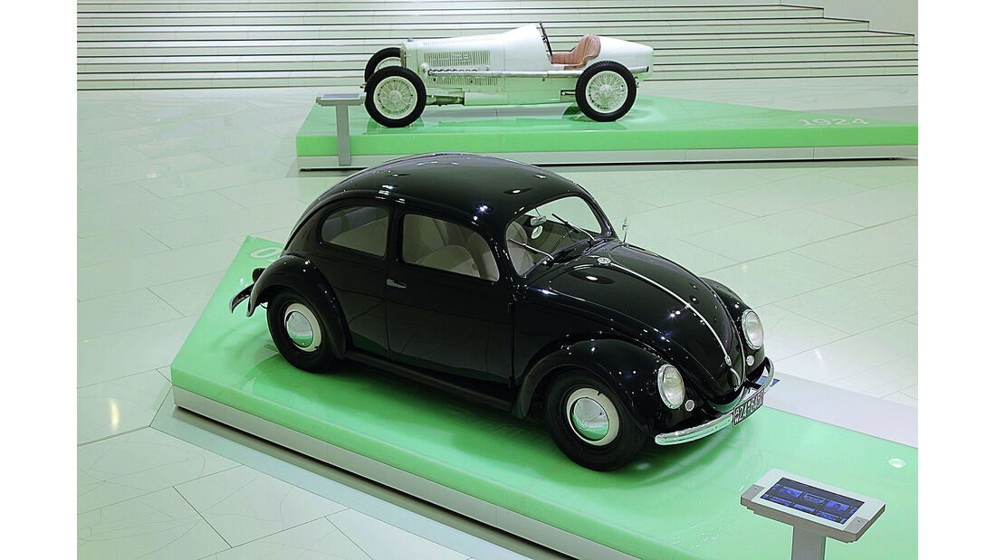 Porsche und Erwin Komenda