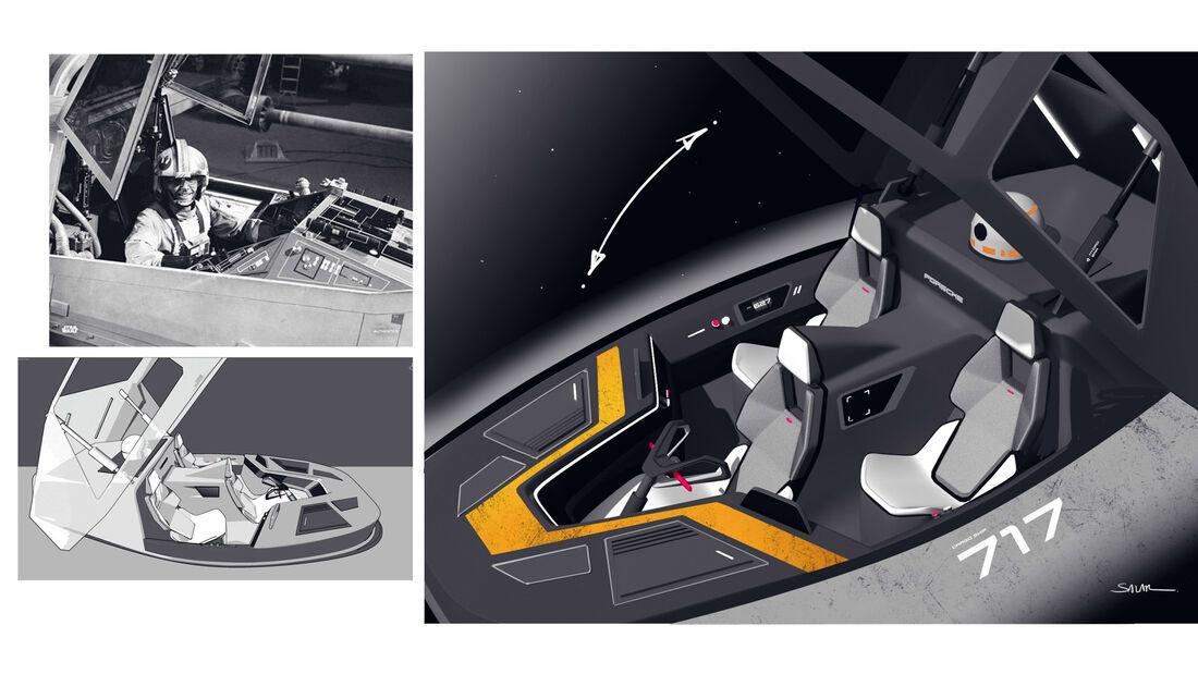 Porsche und Start Wars
