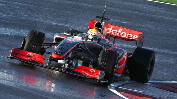 Portimao - F1-Test - 2009 - Lewis Hamilton - McLaren