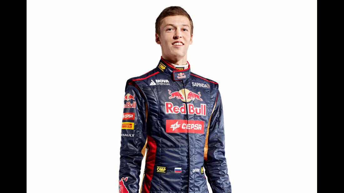 Porträt Daniil Kvyat - Formel 1 2014