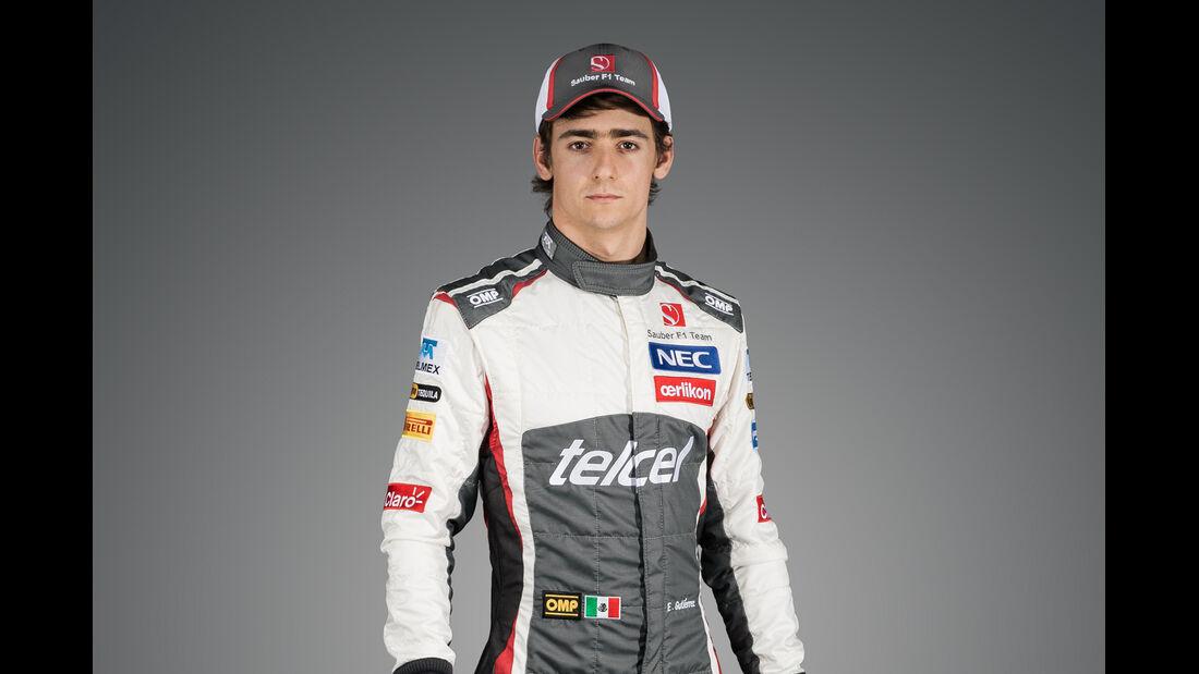 Porträt Esteban Gutierrez - Formel 1 2014