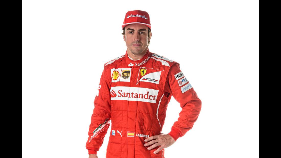 Porträt Fernando Alonso - Formel 1 2014