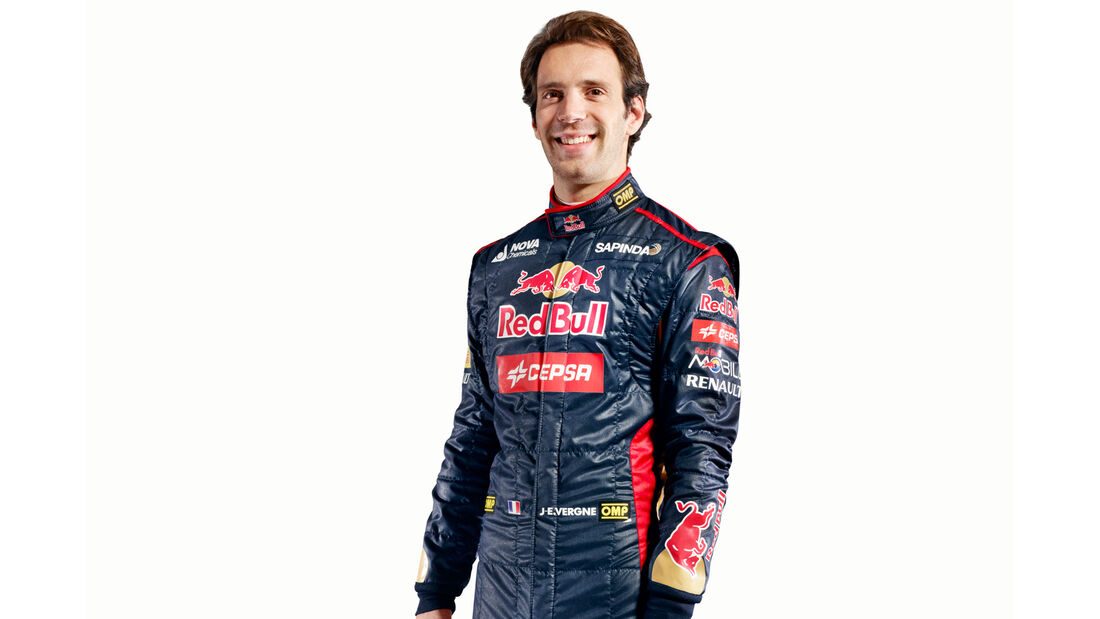 Porträt Jean-Eric Vergne - Formel 1 2014