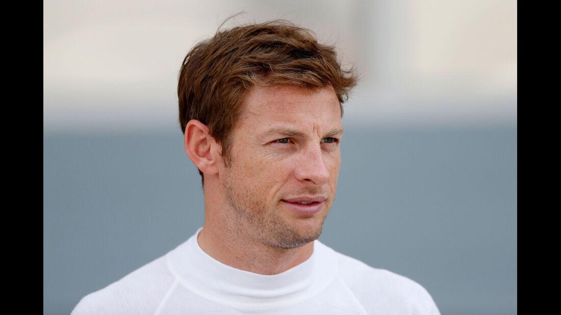 Porträt Jenson Button - Formel 1 2014