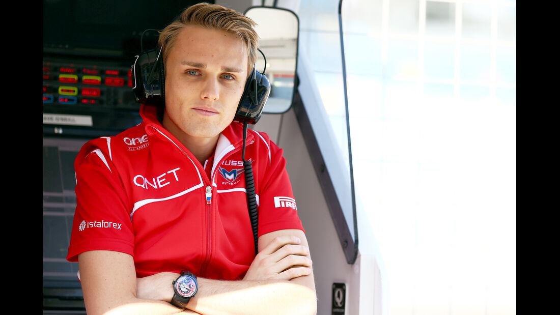 Porträt Max Chilton - Formel 1 2014