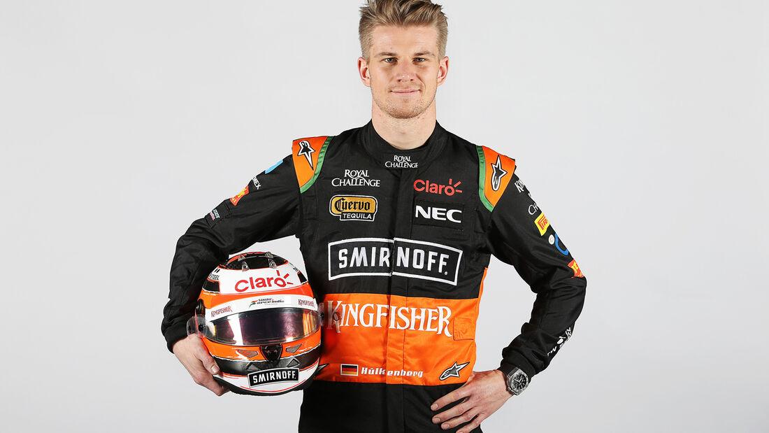 Porträt - Nico Hülkenberg - Force India - 2015