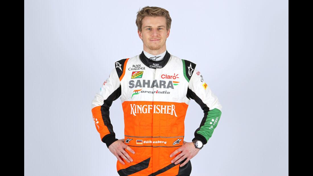 Porträt Nico Hülkenberg - Formel 1 2014
