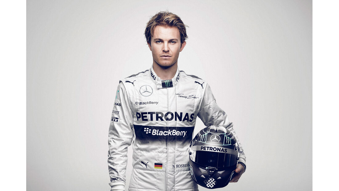 Porträt Nico Rosberg - Formel 1 2014