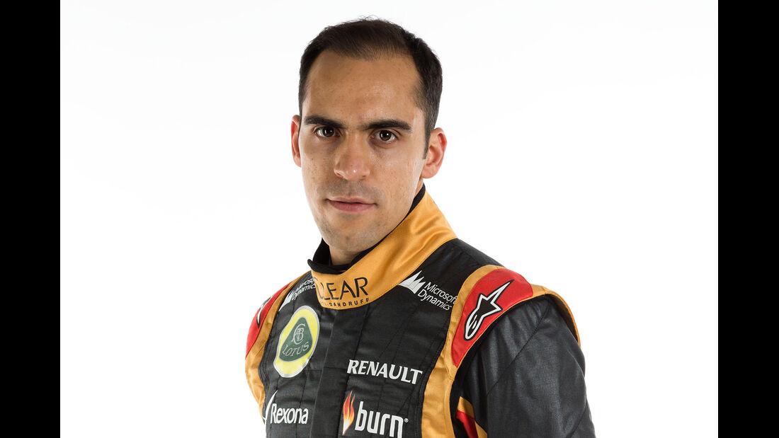 Porträt Pastor Maldonado - Formel 1 2014