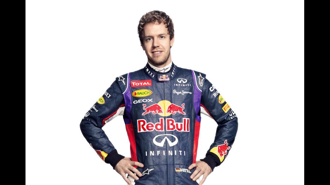 Porträt Sebastian Vettel - Formel 1 2014