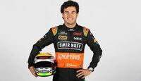 Porträt - Sergio Perez - Force India - 2015