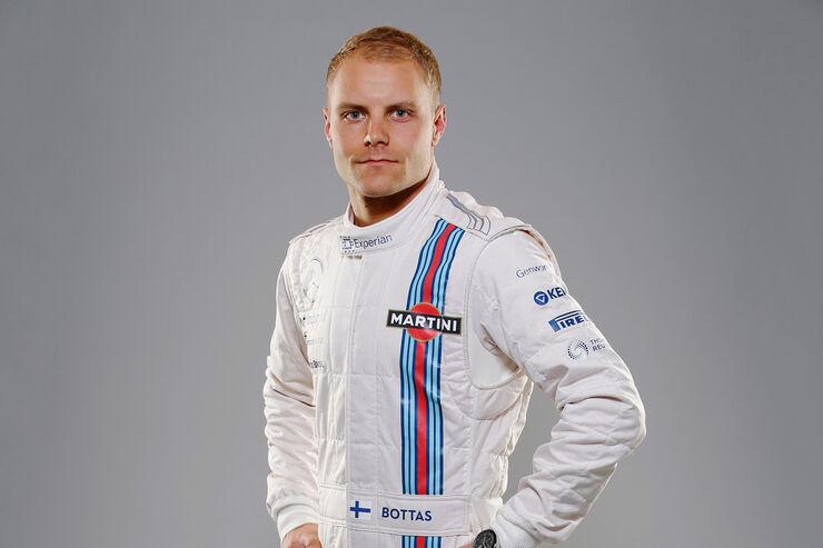 Porträt Valtteri Bottas - Formel 1 2014