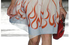 Prada Schuhe mit Heckflossen und Flammen, Kollektion Sommer 2012