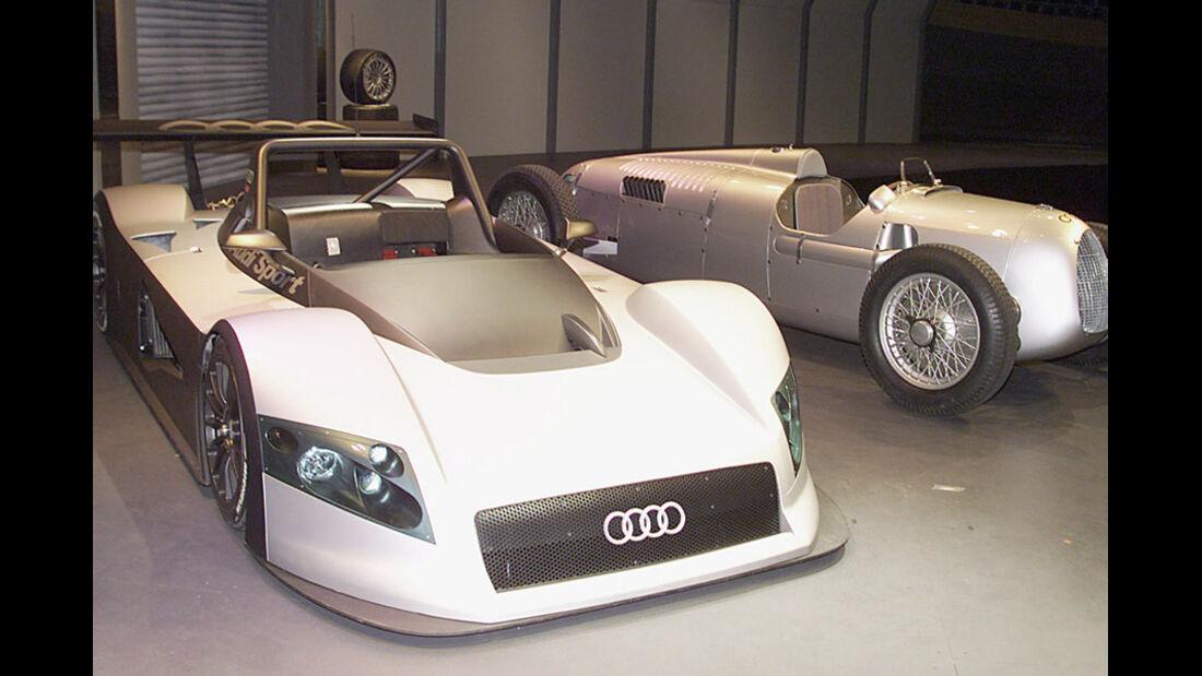 Präsentation Audi R8