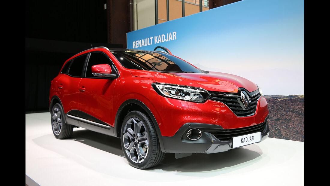 Präsentation Renault Kadjar in Paris