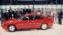 Präsentation des Opel Calibra