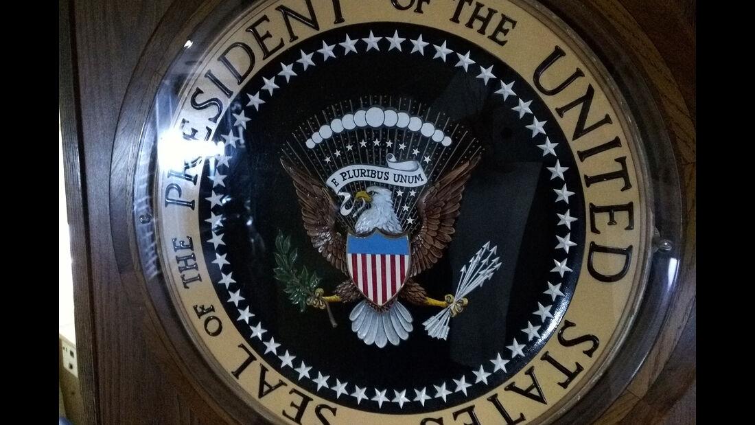 Präsidenten-Siegel, Ronald Reagan Presidential Library