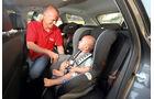 Praxistest, Opel Astra Sportstourer 1.4 Turbo, Kindersitz