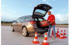 Praxistest, Opel Astra Sportstourer 1.4 Turbo, Pylonen, Kofferraum