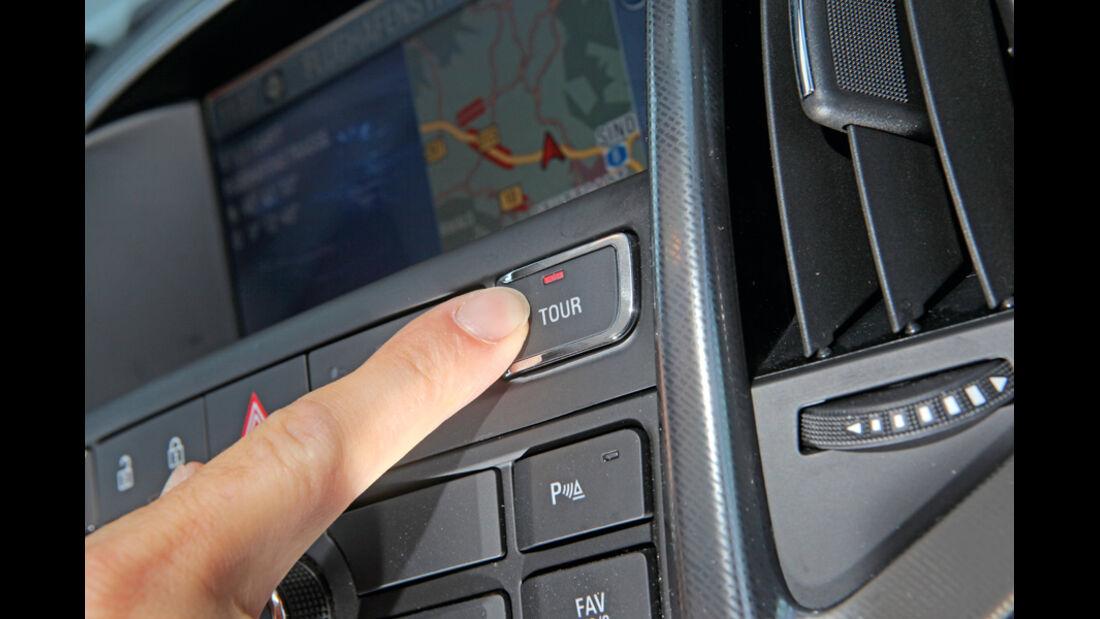 Praxistest, Opel Astra Sportstourer 1.4 Turbo, Tour-Knopf
