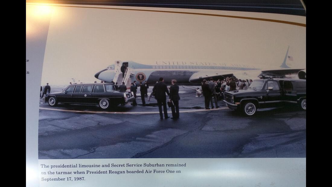 Presidental Motorcade 1987