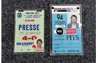 Presse-Akkreditierung 1.000 km Spa 1985 & IndyCar Toronto 1994
