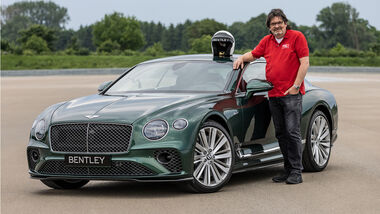 Presse Veranstaltung Bentley Continental GT Speed