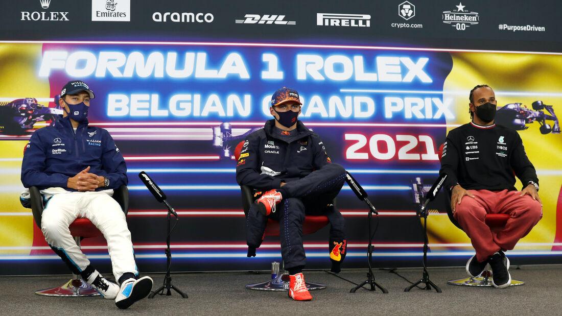 Pressekonferenz - Formel 1 - GP Belgien - 28. August 2021