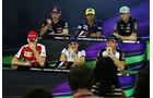 Pressekonferenz - Formel 1 - GP Brasilien- 12. November 2015