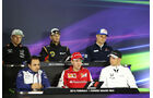 Pressekonferenz - Formel 1 - GP China - Shanghai - 9. April 2015