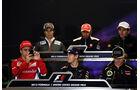 Pressekonferenz - Formel 1 - GP USA - Austin - 15. November 2012