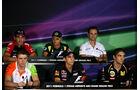 Pressekonferenz - GP Abu Dhabi - 10. November 2011