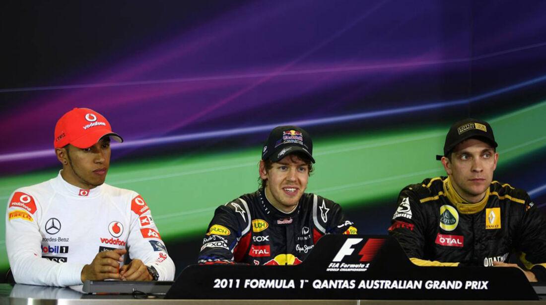 Pressekonferenz GP Australien 2011