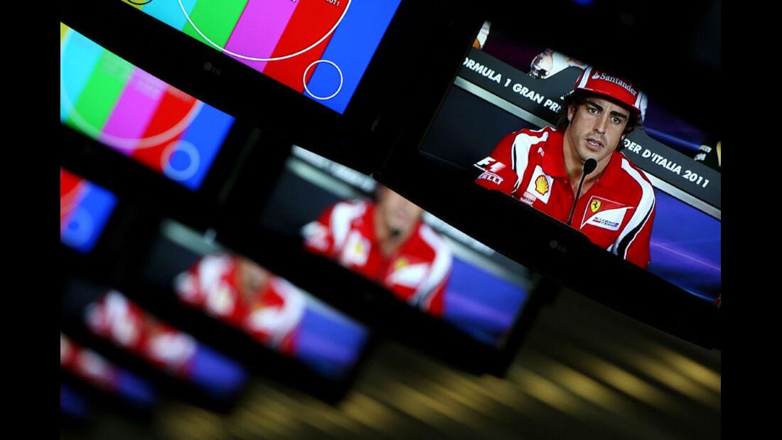 Pressezentrum GP Italien 2011