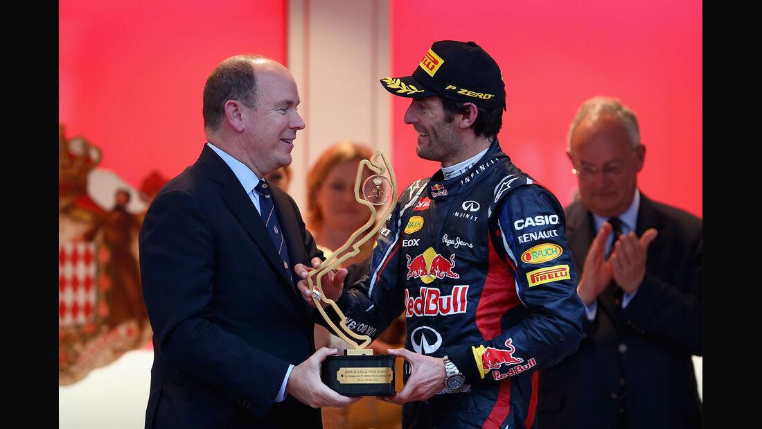 Prinz Albert & Mark Webber - GP Monaco 2012