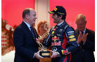Prinz Albert & Mark Webber - GP Monaco 2012