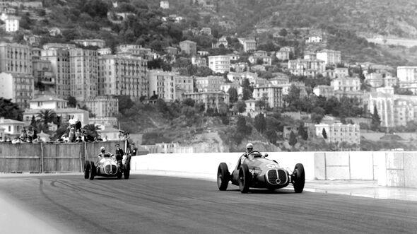 Prinz Bira - Maserati 4CLT/48 - GP Monaco 1950