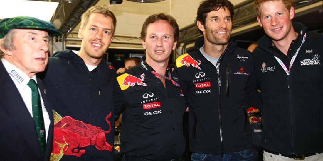Prinz Harry Red Bull GP England 2011 Rennen