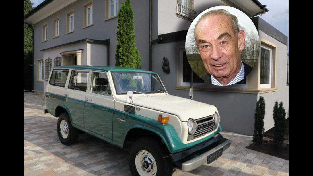 Prinz Max Emanuel von Thurn und Taxis Toyota Land Cruiser FJ55