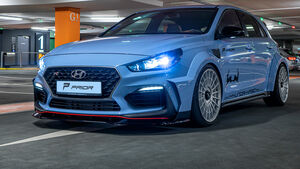 Prior Design Tuning Hyundai i30 N Widebody