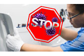 Produktion China Corona Virus Stop 2020