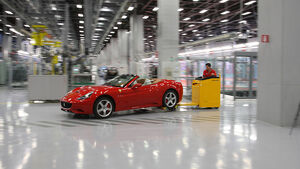 Produktion Ferrari California